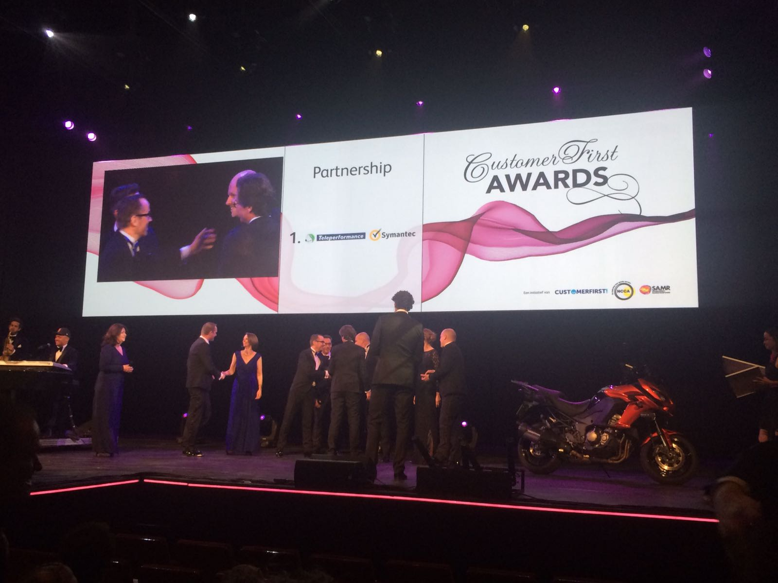 Symantec en Teleperformance winnen Partnership Award
